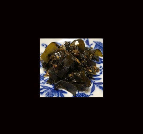 Burdock-leaves & Kelp Tsukudani