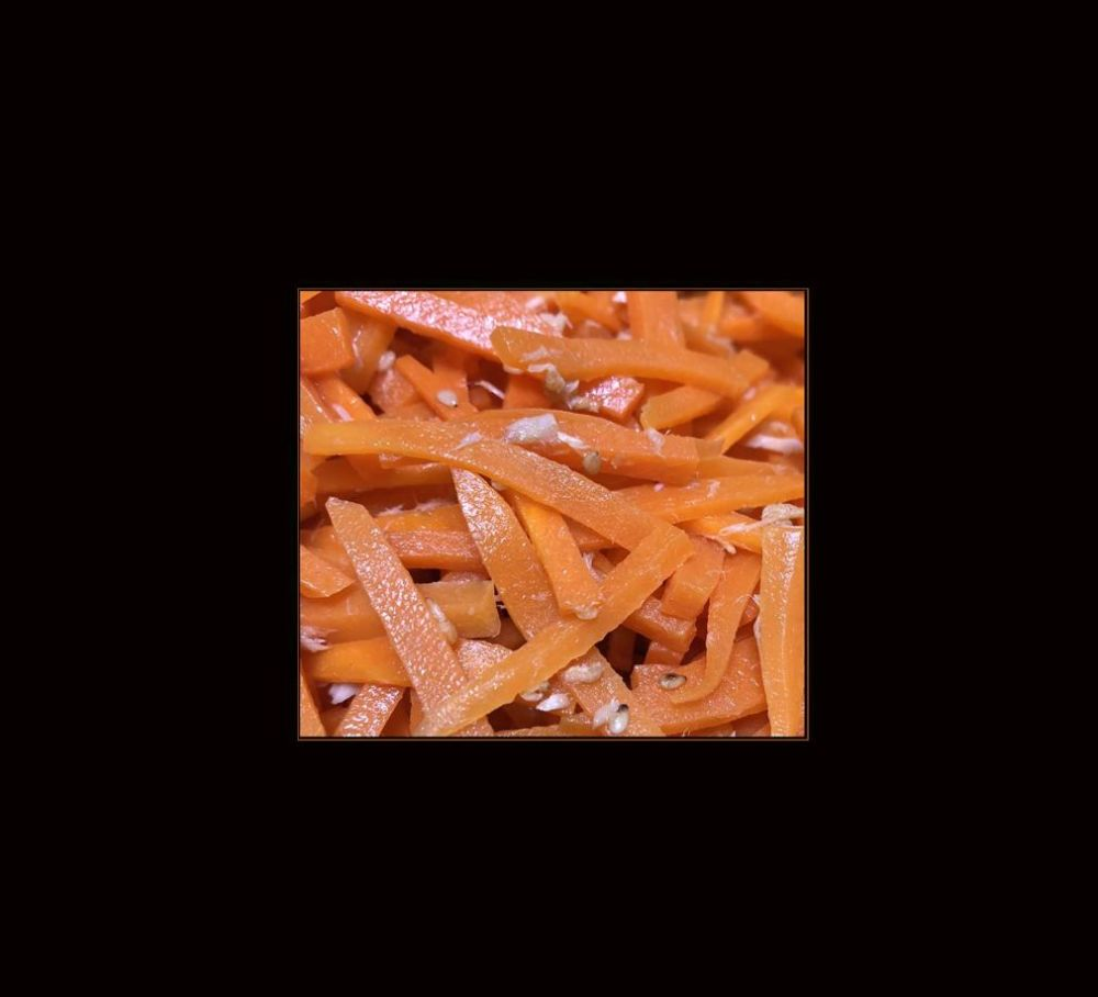 Stir Fried Carrots & Tuna