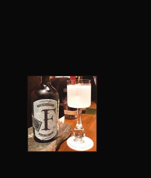 Gin Cocktail - Vintage Baccarat Crystal Glass