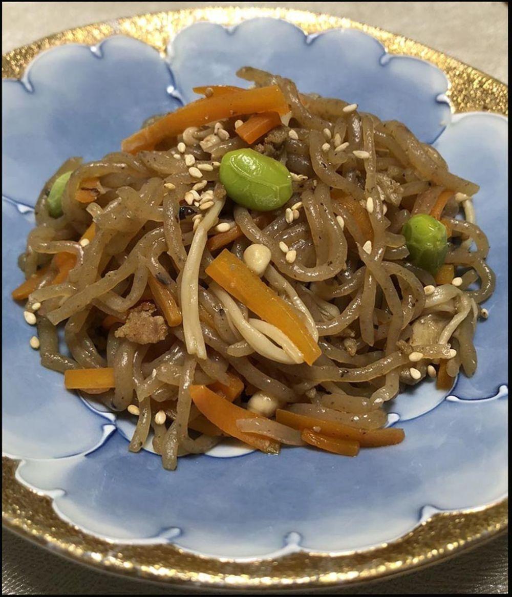 Kinpira Shirataki Noodles