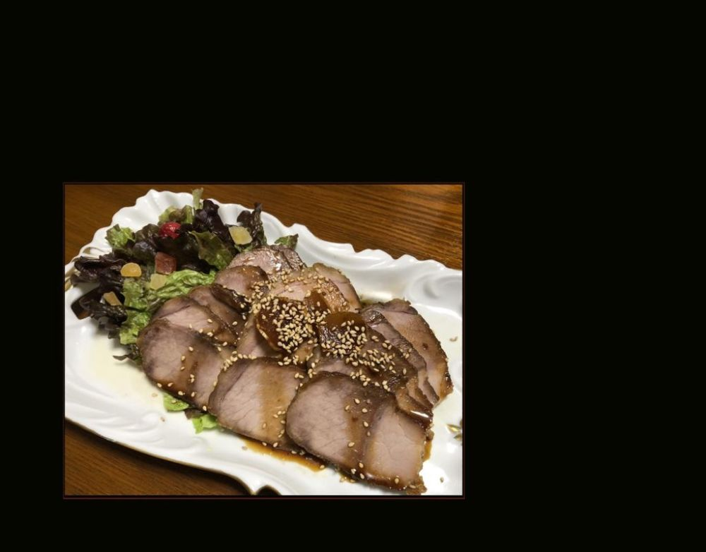 Japanese Style Braised Pork - Pork Loin