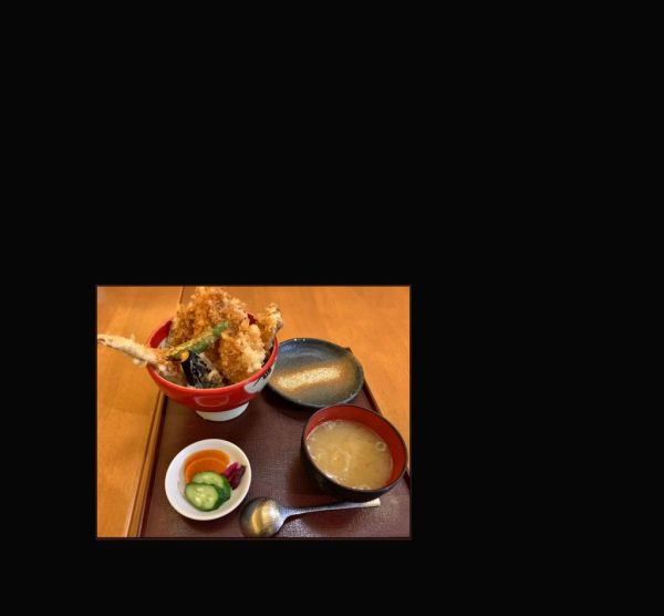Tendon Tempura Rice Bowl - Lunch Meal