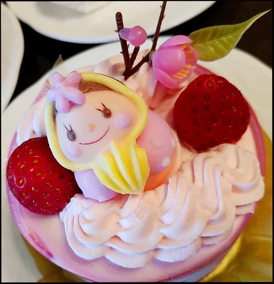Hinamatsuri Cake Strawberry Freger