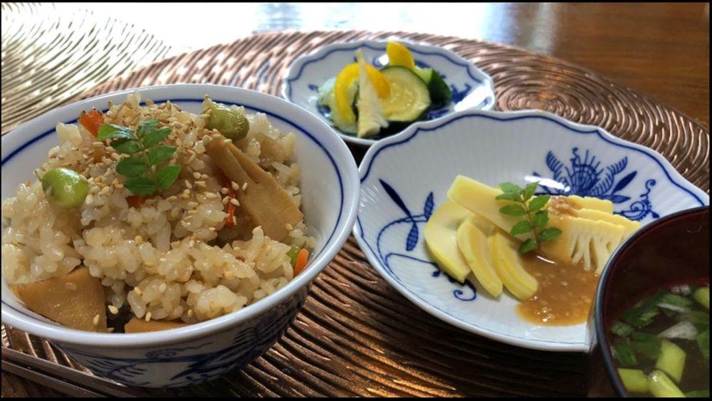 Takenoko Gohan  - Rice with Bamboo Shoot