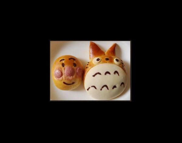 Totoro & Anpan man Sweet Breads