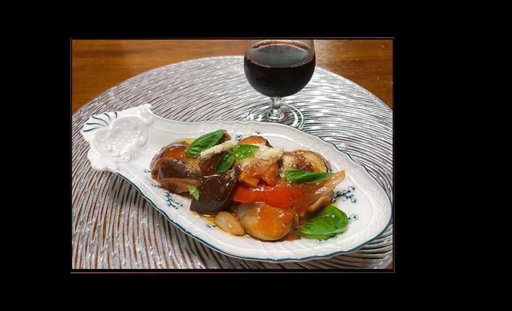 Ratatouille with Plenty of  Summer Vegetables