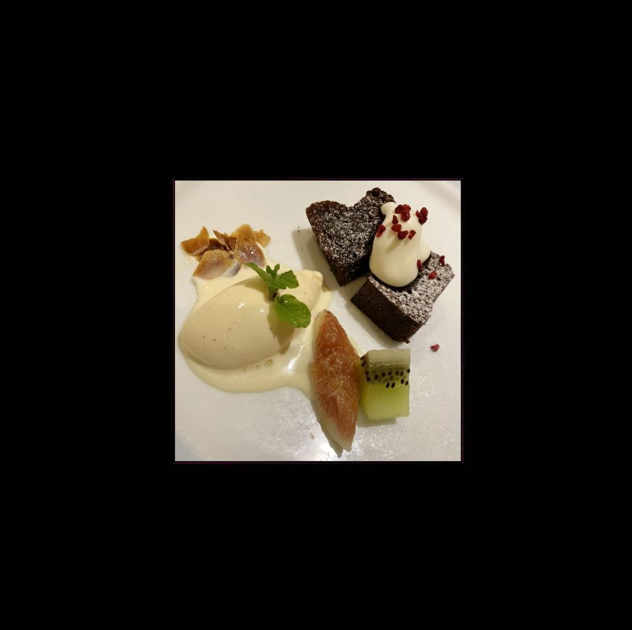 French with Dessert Wagon (French Cuisine)