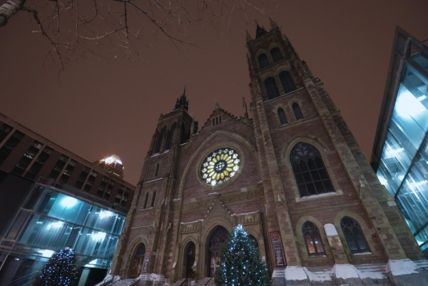 Church in Downtown Montreal