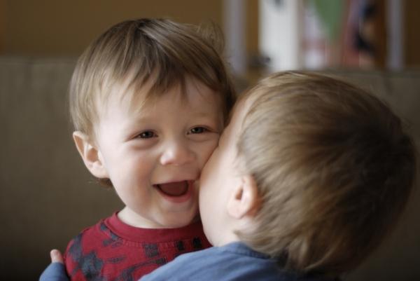 fraternal kiss