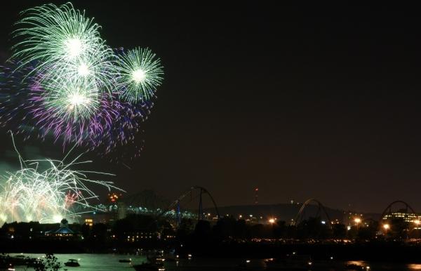 Montreal's Fireworks (La Ronde) II