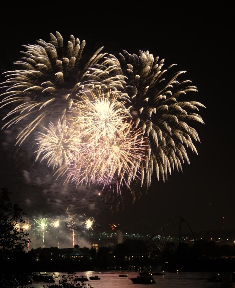 Montreal's Fireworks (La Ronde) III