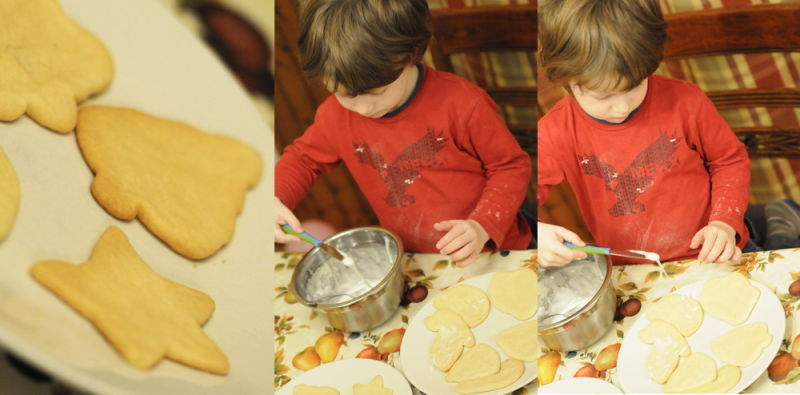 Christmas cookies, the making of !
