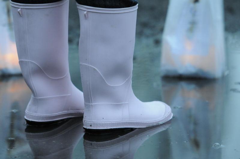 Le relais pour la vie, sous la pluie