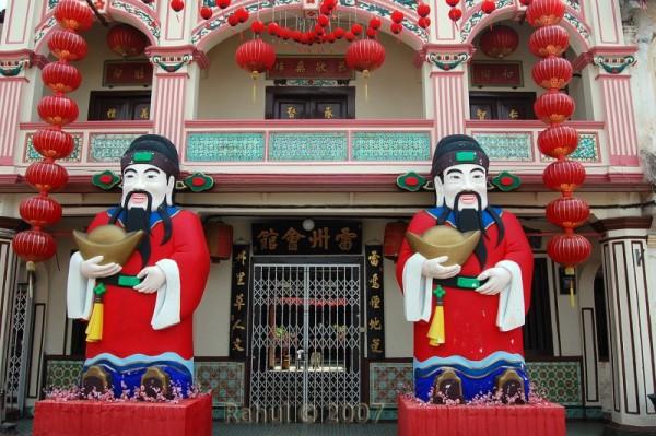 Chinese Temple in Melaka