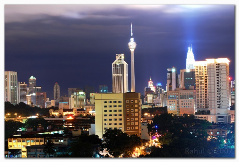 KL City at 10pm
