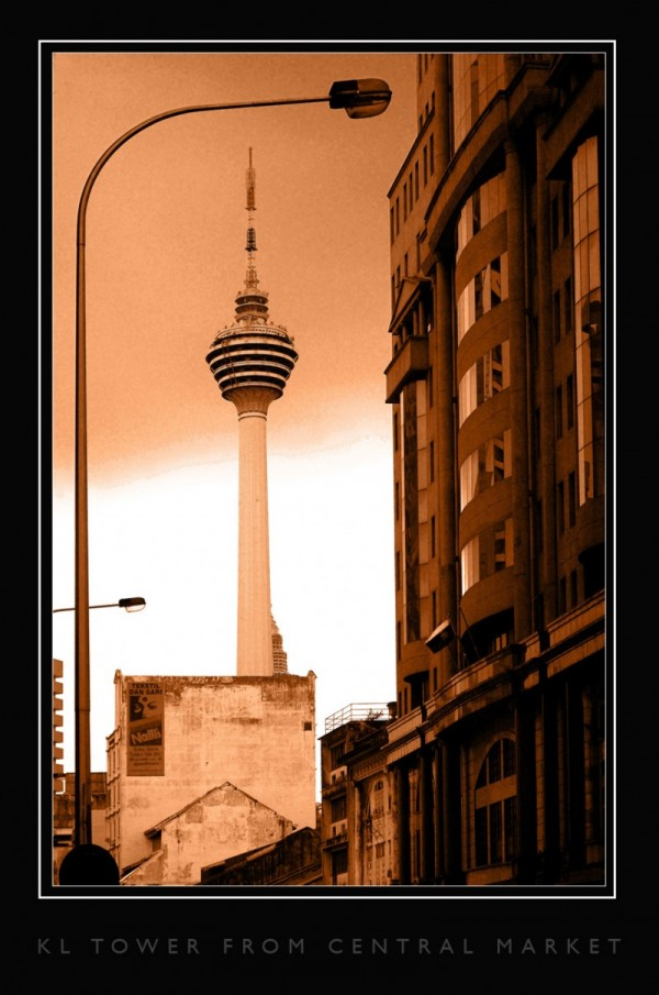 KL Tower From Central Market