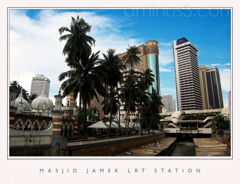 Masjid Jamek LRT Station