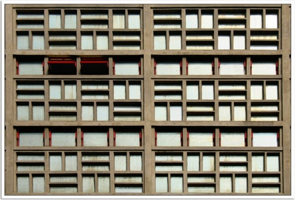 several windows