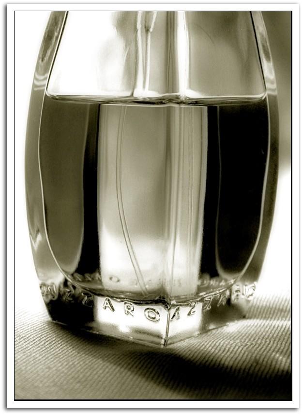 A perfume flacon