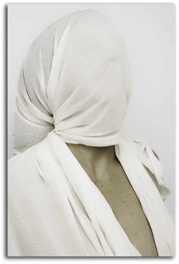 Wrapped up (dans un drap)