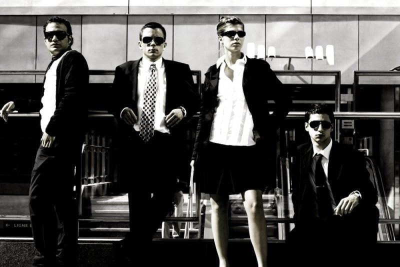 métro, men, women, bw,nb