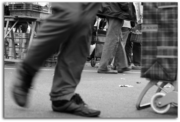 marché, people