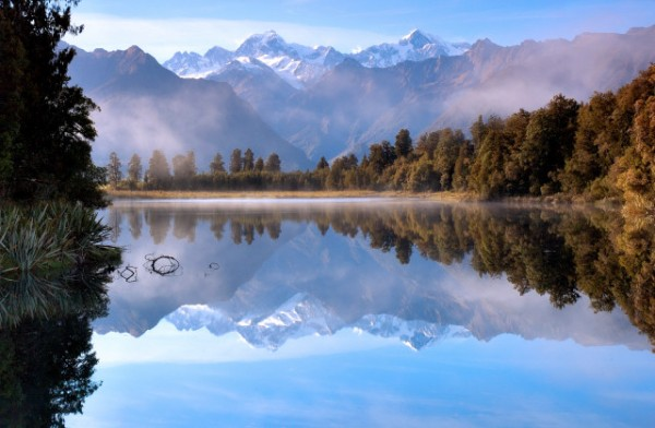reflections at lake matheson
