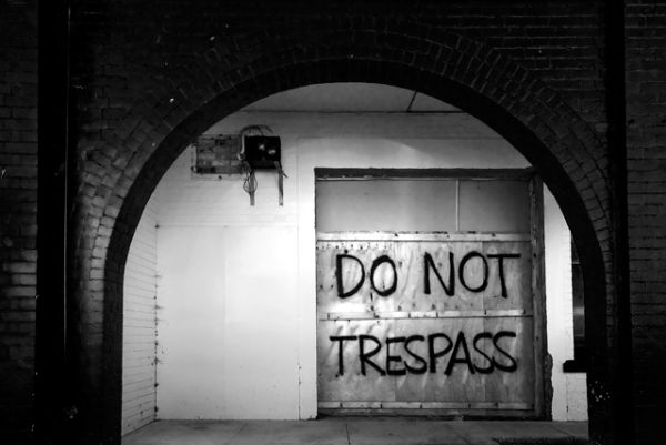 Do Not Trespass!