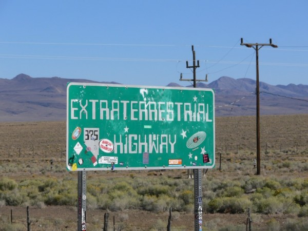 Near area 51 everything gets... extraterrestrial !