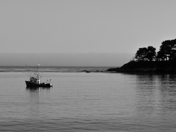 Some boat on the west coast