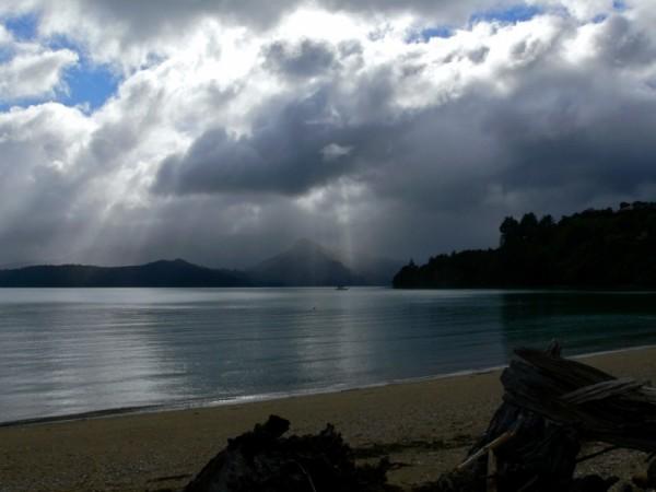 Morning in the Marlborough Sound