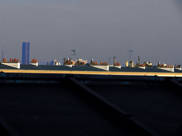 City roofs
