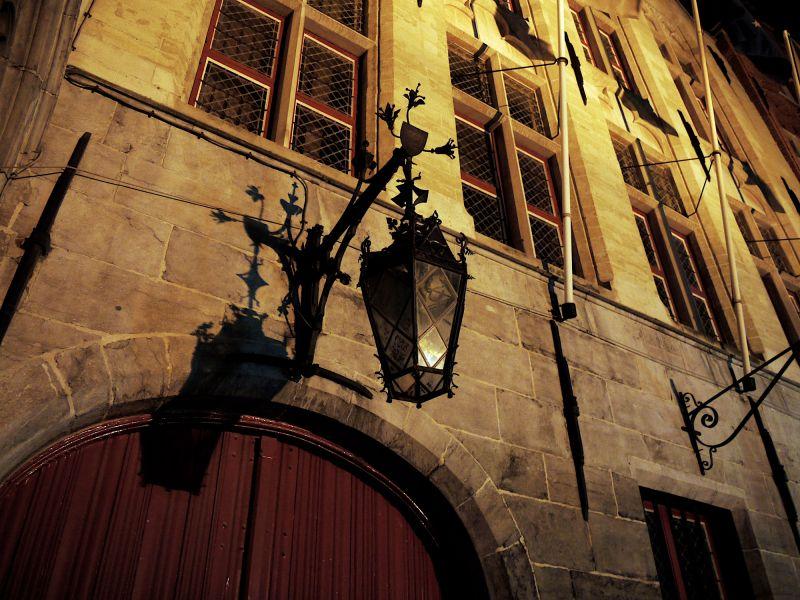 Street light in Bruges
