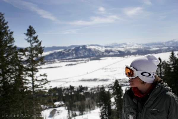 Jackson Wyoming Snowboarding