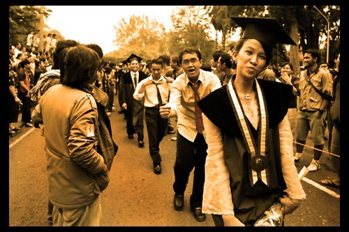 Graduation Day in ITB 4 of 10