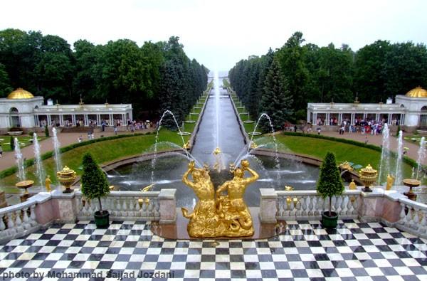 1st Peter palace-Peterhov Russia