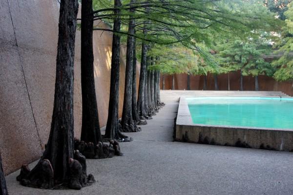 a quiet pool