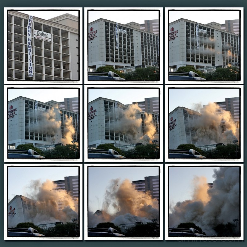 destruction of the Crowne