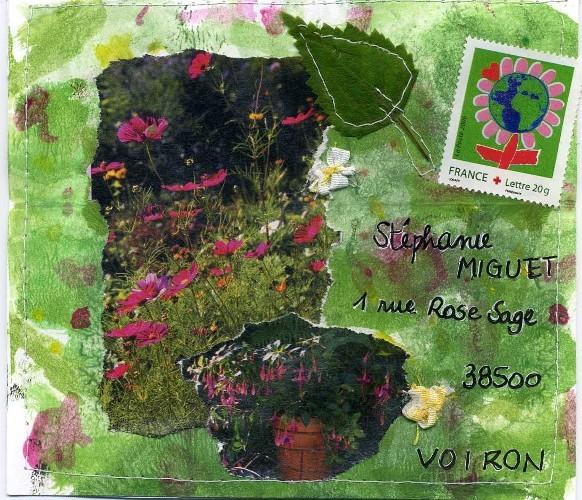 Fleurs du jardin...