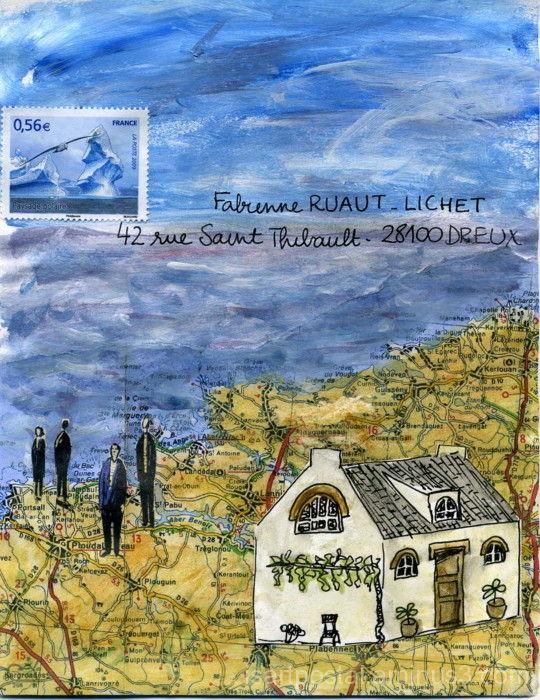 Carte : promenade en Bretagne