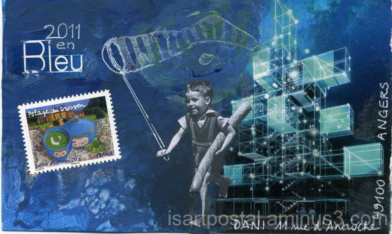 Chasse aux voeux 2011 en bleu