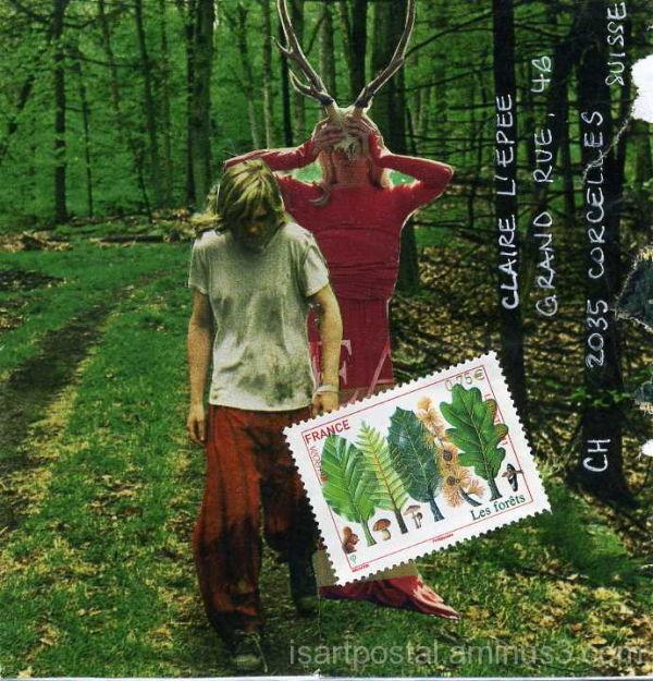Esprit rouge de la forêt
