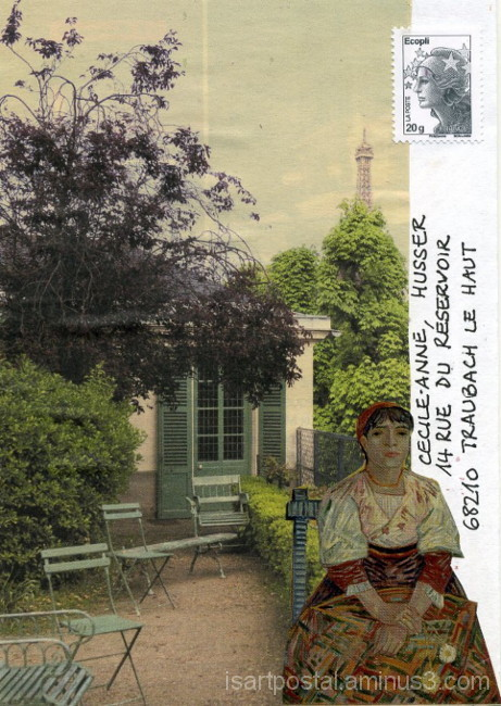 Rêveuse au jardin