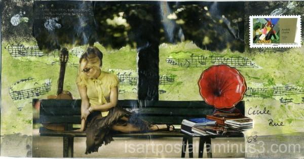 Le phonographe rouge...