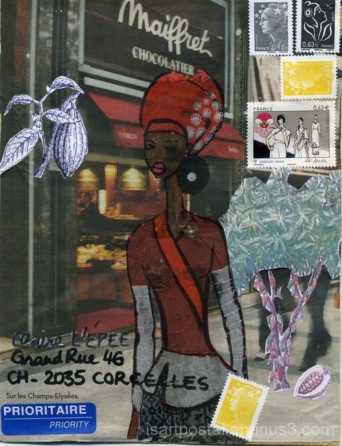 Champs Elysées - souvenirs cacao