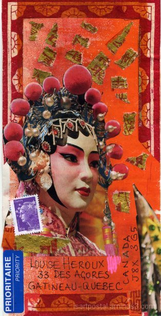 Masque de Chine