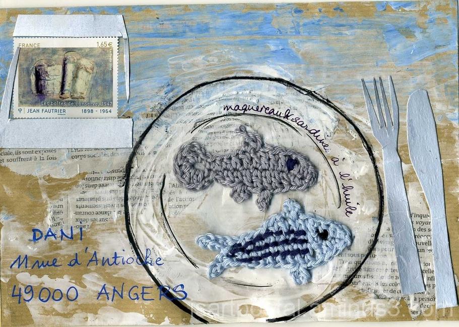 Maquereau et sardine à l'huile...