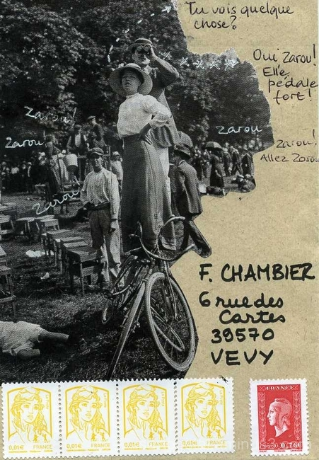 usage du vélo en 1914