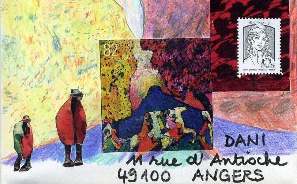 Kandinsky et les coccinelles-robots