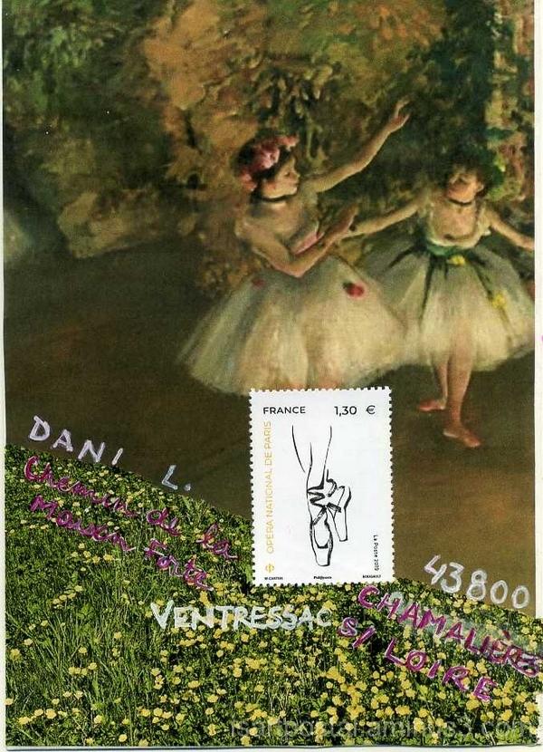 Degas et les danseuses sur le pré fleuri